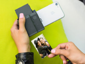 Prynt lomme fotoprinter til Iphone konfirmationsgaver