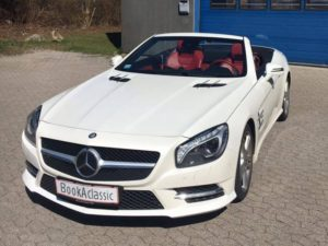 Mercedes Benz SL500 Lej en sportsvog til konfirmanden